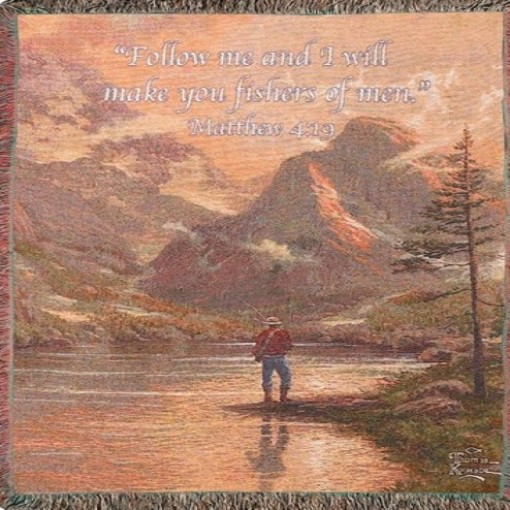 Almost Heaven Tapestry Throw