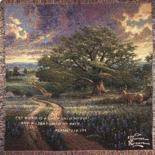 """""""Country Living"""" Tapestry Throw"""