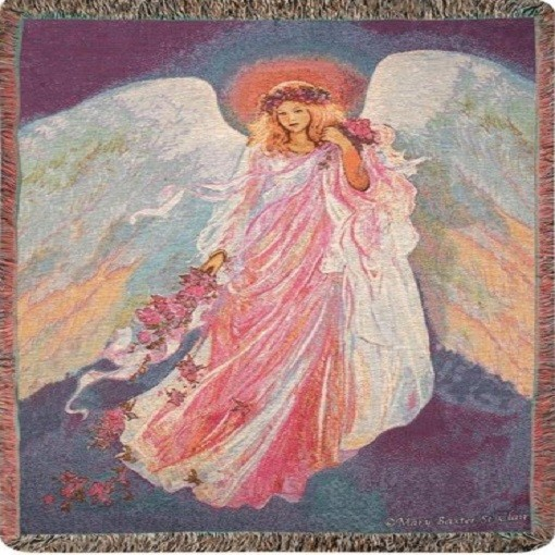 """Messenger Of Spring"" Tapestry Throw"